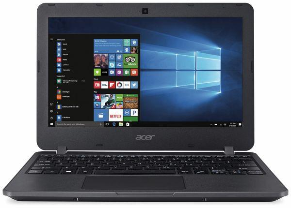 Laptop ACER TravelMate B117, Intel Pentium N3710, 4 GB DDR3, Win 10 Home - Produktbild 1