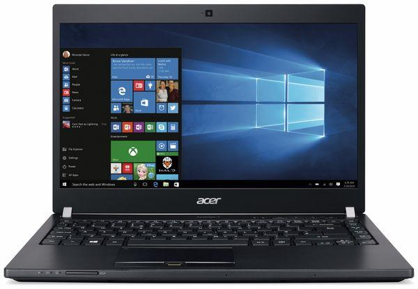 Laptop ACER TravelMate P648, Intel i5, 8 GB DDR4, 256 GB SSD, Win 7/10 Pro - Produktbild 1