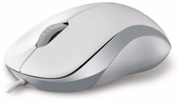 USB-Maus RAPOO N1130, weiß - Produktbild 1