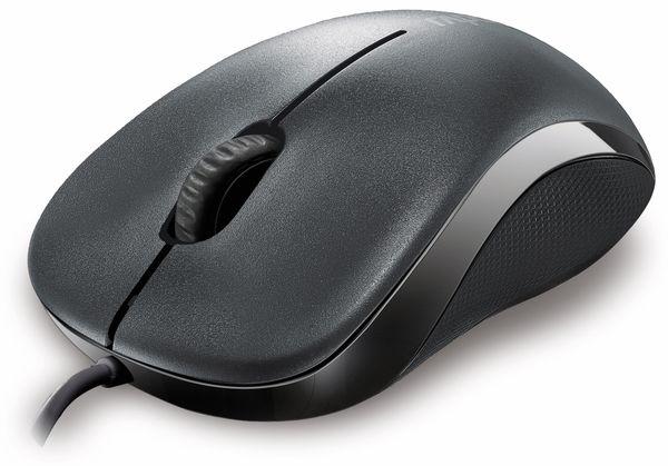 USB-Maus RAPOO N1130, grau - Produktbild 1