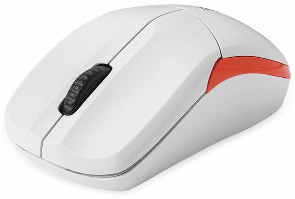 Funkmaus RAPOO 1190, weiß - Produktbild 1
