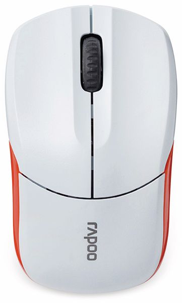 Funkmaus RAPOO 1190, weiß - Produktbild 3