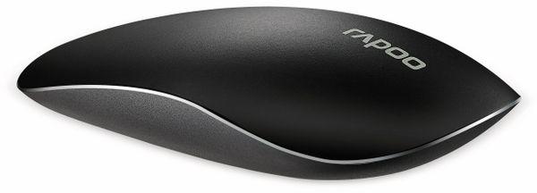 Touch Funkmaus RAPOO T8, schwarz - Produktbild 2