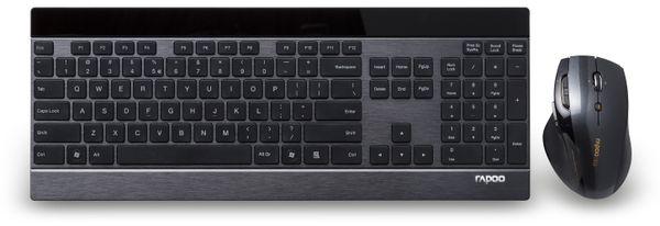 Funktastur- und Maus-Set RAPOO 8900P, schwarz - Produktbild 3