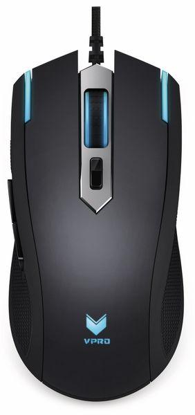 Gaming-Maus RAPOO V26, schwarz - Produktbild 2