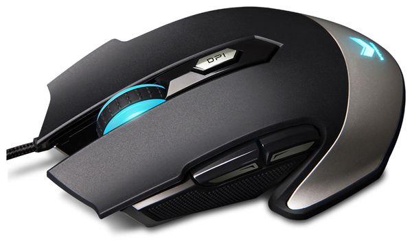 Gaming-Maus RAPOO V310, schwarz - Produktbild 1