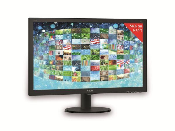 """23,8"""" TFT-Monitor PHILIPS 240V5QDAB V-Line, EEK: B, HDMI, VGA, DVI, 16:9"""
