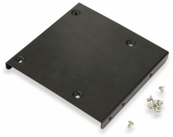 """Festplatten-Einbaurahmen SCK041803100B40, 2,5"""" auf 3,5"""", schwarz - Produktbild 1"""
