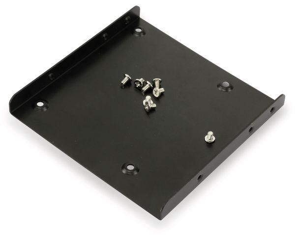 """Festplatten-Einbaurahmen SCK041803100B40, 2,5"""" auf 3,5"""", schwarz - Produktbild 3"""