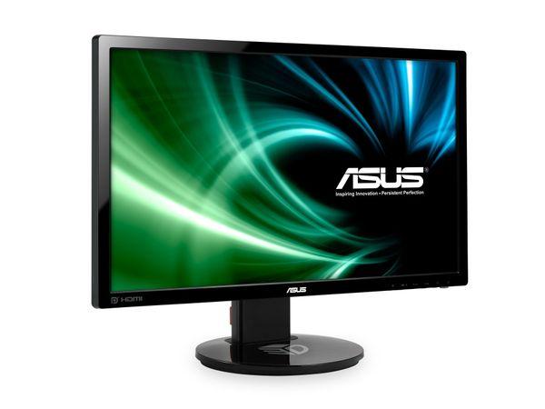 "24"" TFT-Monitor ASUS VG248QE, EEK: A+, DisplayPort, HDMI, VGA, DVI-D - Produktbild 2"