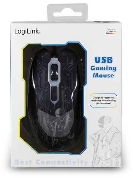 Gaming-Maus LogiLink ID0137, USB - Produktbild 7