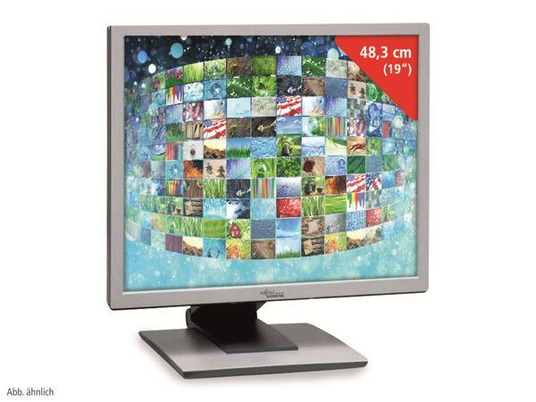 """19"""" Monitor, VGA, DVI-D, verschiedene Modelle, silber-weiß, Refurbished"""