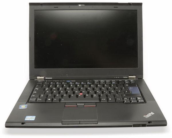 "Laptop LENOVO Thinkpad T420s, 14,1"", Intel i5, inkl. Drucker, Refurbished - Produktbild 2"
