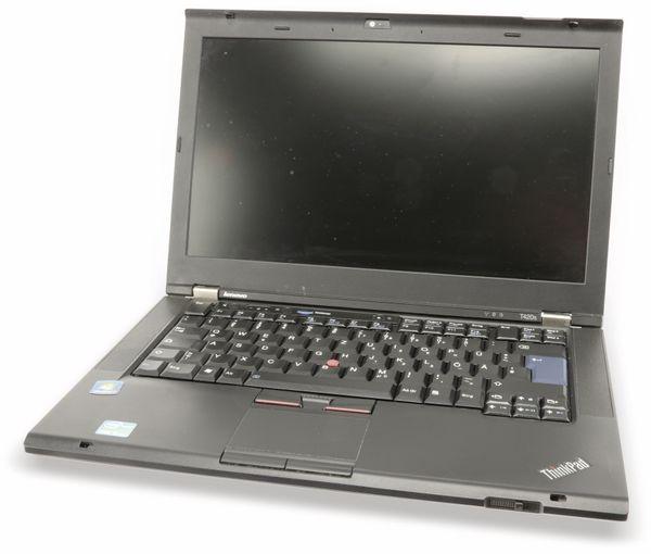 "Laptop LENOVO Thinkpad T420s, 14,1"", Intel i5, inkl. Drucker, Refurbished - Produktbild 3"