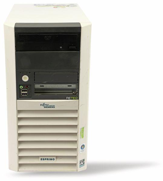 PC, AMD Athlon 64 3500+, 3 GB, 160 GB HDD, Win 10 Home, Refurbished - Produktbild 1