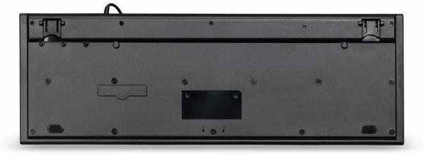 Multimedia-Tastatur HAMA Anzano 182663, schwarz - Produktbild 4