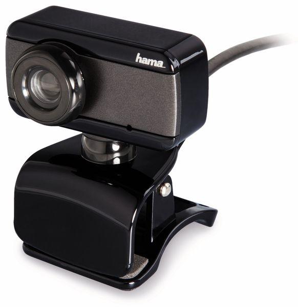 Webcam HAMA Speak2, integriertes Mikrofon, schwarz