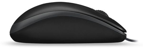 USB-Maus LOGITECH B100, optisch, 800 dpi, schwarz - Produktbild 3