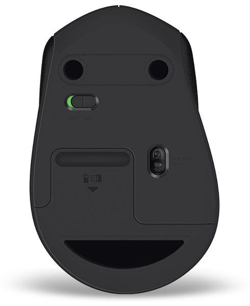 Funkmaus LOGITECH M330 Silent Plus, optisch, 1000 dpi, schwarz - Produktbild 5