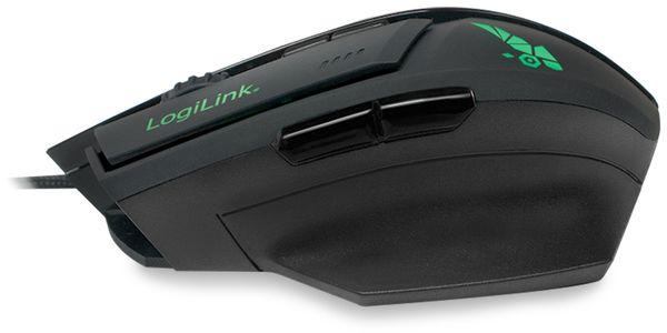 USB-Gaming-Maus LOGILINK ID0157, 3200 DPI, schwarz - Produktbild 5
