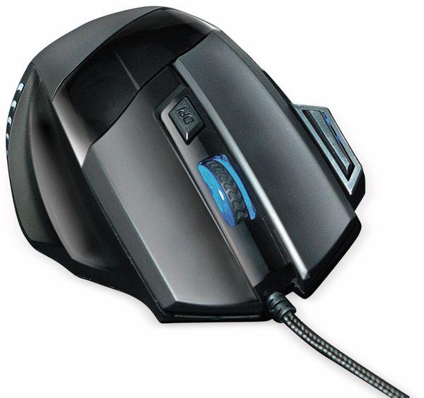 Gaming-USB-Maus mit Mauspad LOGILINK ID0157, 2400 DPI - Produktbild 4