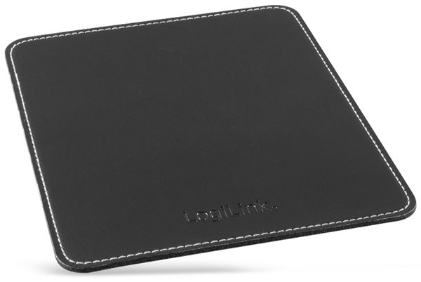 Mauspad LOGILINK ID150, schwarz, Lederoptik - Produktbild 2