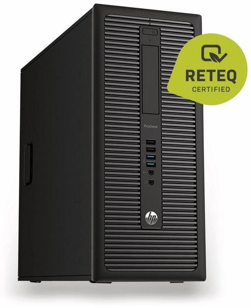 PC HP ProDesk 600 G1, Intel Pentium, 4 GB RAM, Win 10 Pro, Refurbished - Produktbild 1