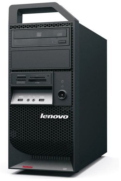 PC LENOVO ThinkStation E20, Intel i3, 8 GB RAM, Win 10 Pro, Refurbished