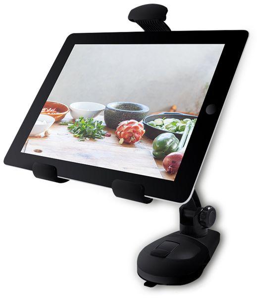 "Tablet-Halterung LOGILINK AA0115, 7""...10"", Saugnapf - Produktbild 5"