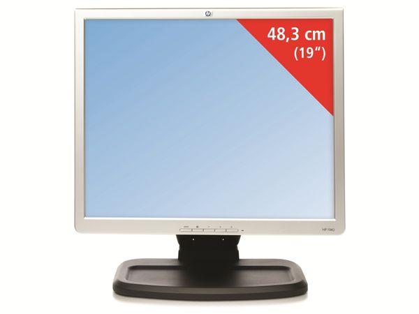 """19"""" Monitor, VGA, DVI-D, verschiedene Modelle, schwarz-silber, Refurbished"""