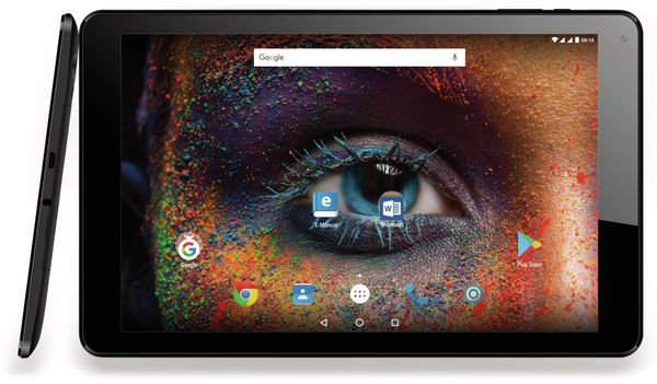 "Tablet ODYS Falcon Plus 3G, 10,1"", IPS-Display, Android 7.0, Quad-Core, 3G - Produktbild 1"