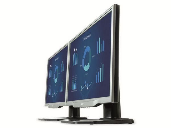 "22"" TFT-Monitor ACER AL2223W B, VGA, DVI, Refurbished - Produktbild 3"