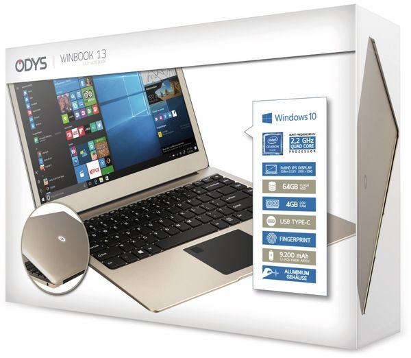 Ultrabook ODYS Winbook 13, Intel Celeron, 64 GB Flash, Win 10 Home - Produktbild 7