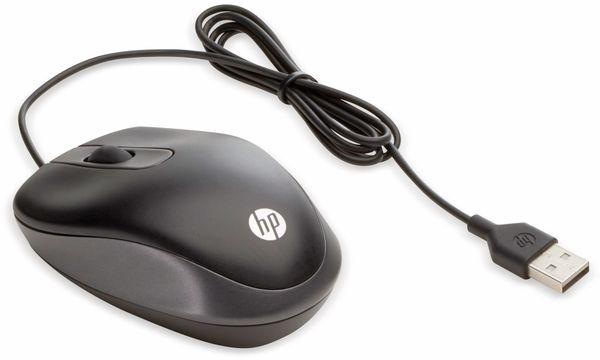 USB-Reisemaus HP GK28AA, schwarz