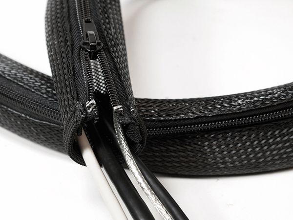 Kabelmanager LOGILINK KAB0046, Flexibel, Reißverschluss - Produktbild 2