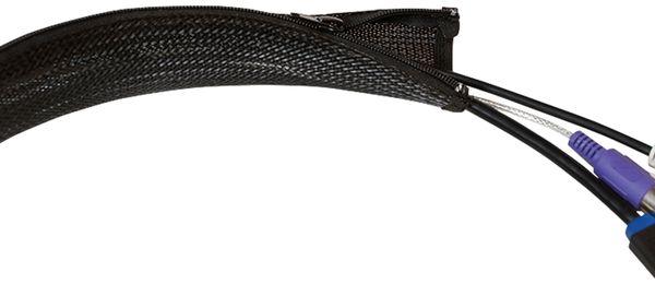 Kabelmanager LOGILINK KAB0047, Flexibel, Reißverschluss - Produktbild 3