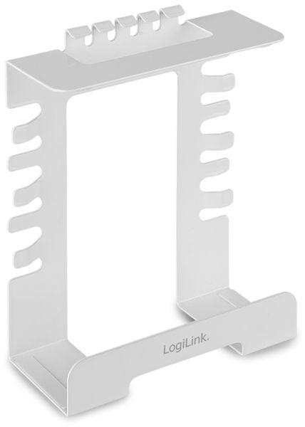 Kabelmanagementsystem LOGILINK KAB0066, Untertischmontage - Produktbild 1