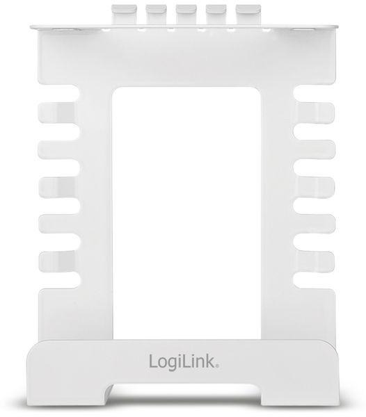 Kabelmanagementsystem LOGILINK KAB0066, Untertischmontage - Produktbild 2