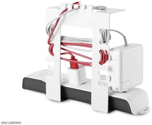 Kabelmanagementsystem LOGILINK KAB0066, Untertischmontage - Produktbild 4