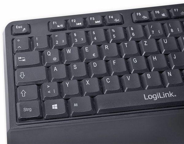 Funktastatur- und Maus-Set LOGILINK ID0161, Slim, schwarz - Produktbild 3
