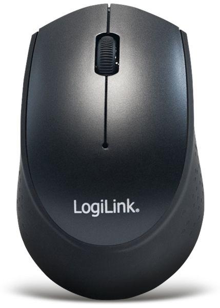 Funktastatur- und Maus-Set LOGILINK ID0161, Slim, schwarz - Produktbild 5