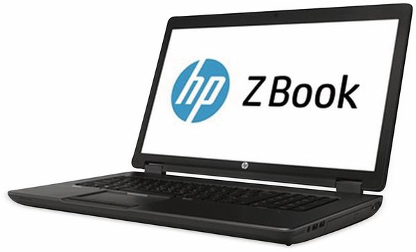 "Laptop HP ZBook 17 G1, 17,3"", i7, 256GB SSD, 16 GB RAM, Refurbished"