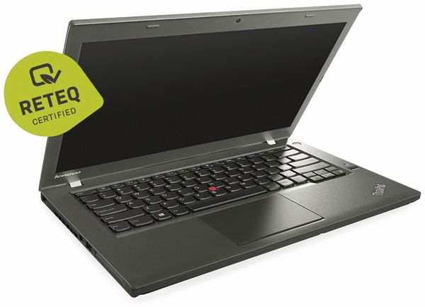 "Laptop LENOVO ThinkPad T440, 14"", i5, 256 GB SSD, Win10Pro, Refurbished - Produktbild 2"