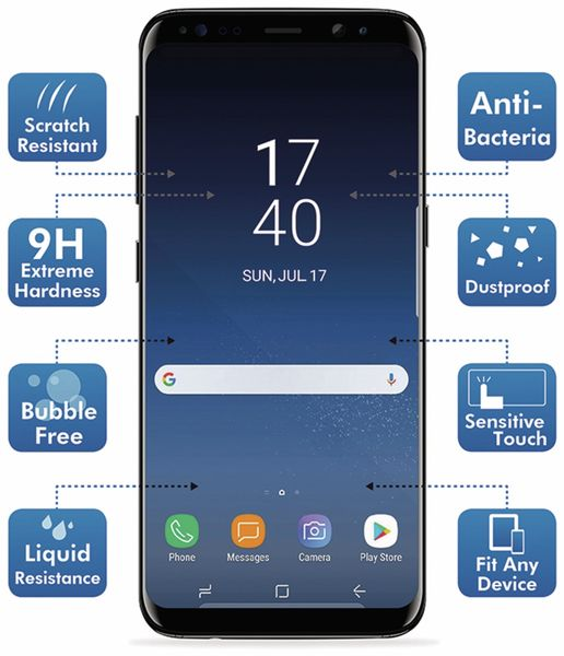Display-Versiegelung LOGILINK AA0116, Nano-Technologie - Produktbild 3