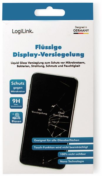 Display-Versiegelung LOGILINK AA0116, Nano-Technologie - Produktbild 6