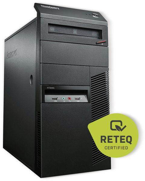 Tower-PC, Intel i3, 4 GB RAM; 250 GB HDD, Win10H, Refurbished