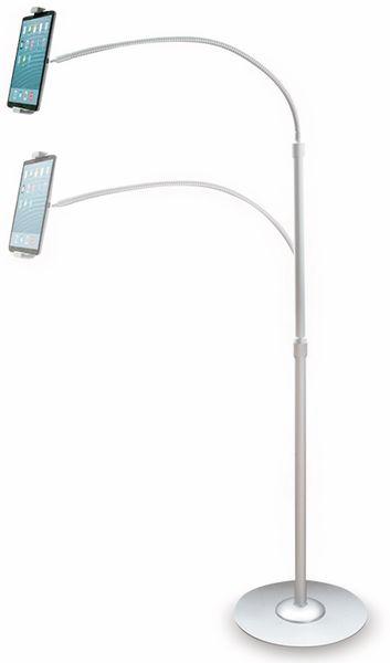 Tablet- und Smartphone-Ständer LOGILINK AA0082, Aluminium - Produktbild 4