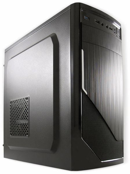 PC JOY-IT PO-Ryzen3 2200G, AMD Ryzen 2200, 8 GB RAM, 1 TB HDD, Win10Pro