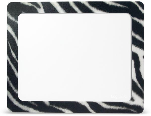 Mauspad LOGILINK ID0164, Fotorahmen, Zebra - Produktbild 1