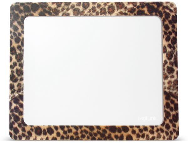 Mauspad LOGILINK ID0164, Fotorahmen, Leopard